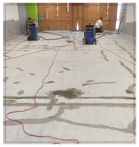Covalt floor repair concrete floor repair concrete floor for Polished concrete maintenance