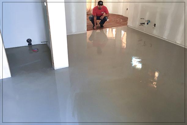 Covalt Floor Repair Concrete Leveling And Resurfacing Wooden Subfloor Project In Costa Mesa Ca
