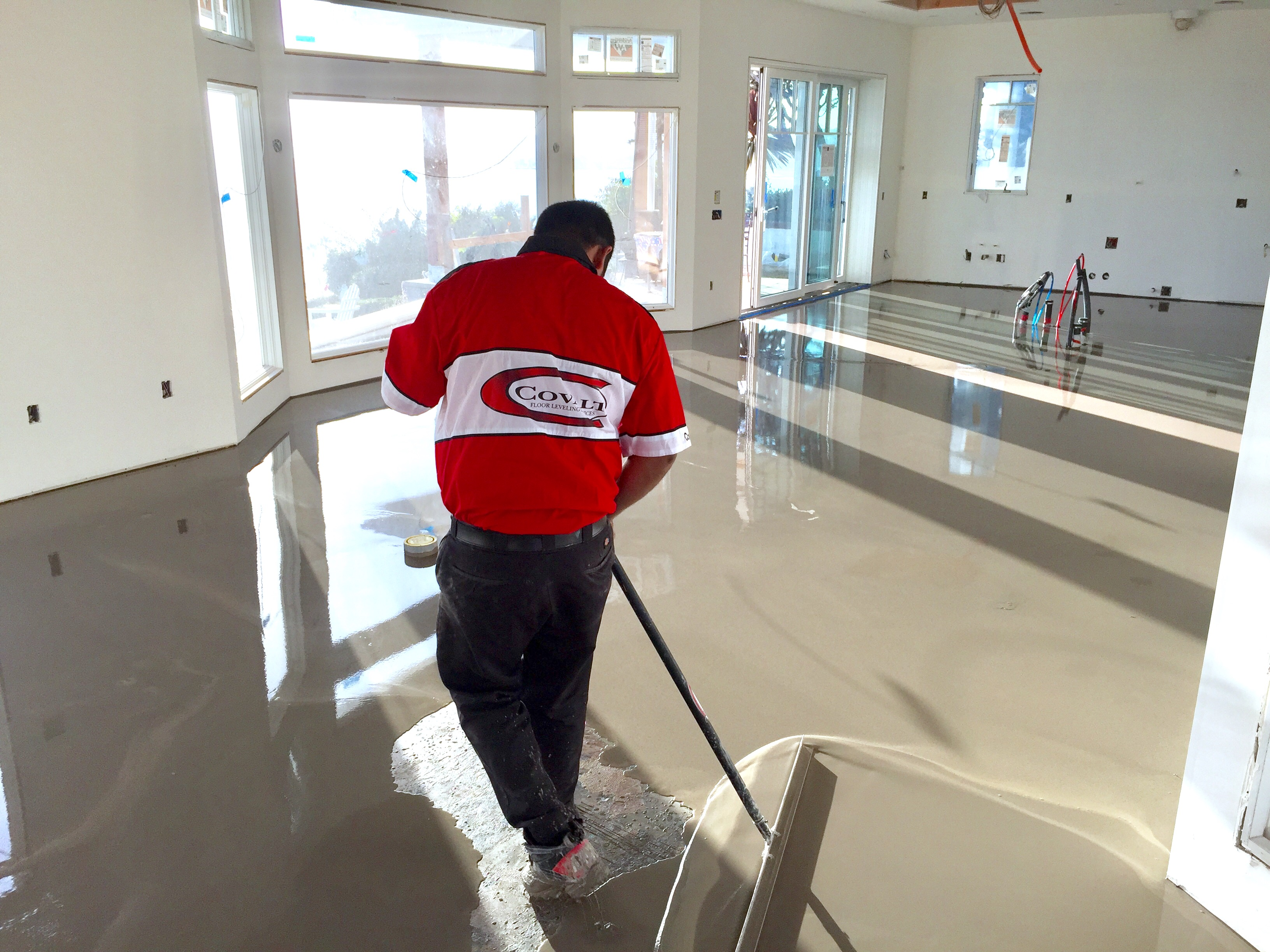 Covalt Floor Repair Concrete Floor Repair Concrete Floor Leveling - Subfloor leveling techniques